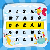 "Word Search Ocean ""Under Water World & Sea Edition"""