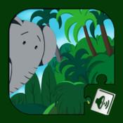 Jungle Book - Audiobook Puzzles (Rudyard Kipling)