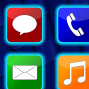 Glowing App Icons