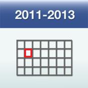 Week Numbers 2011-2013