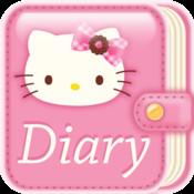 Hello Kitty Diary calendar diary period