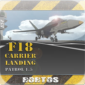 F18 Carrier Landing cat carrier