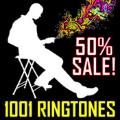 1,001 Ringtones (50% Off)