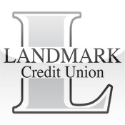Landmark CU Mobile check balances view
