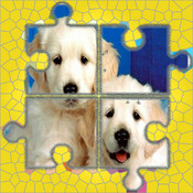 Dogs : 150+ Jigsaw Puzzles for Kids