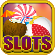 Animated Beach Slots Casino Vacation Games HD - Vegas Slot Machines Icons And New Emoticons Free