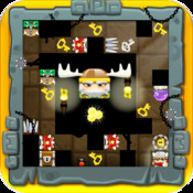 Angry Temple :Clash of Vikings super football clash 2 temple