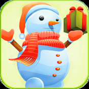 Frozen Snowman Free Fall - Kids help Cute Guy Find His Carrot Nose