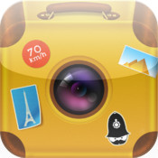 Travel Photo Booth: Add Objects and Text to Vacation, Trip and Holiday Pictures