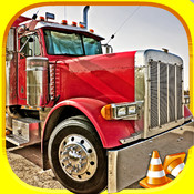 3D Fun Racing Semi-Truck Driving Simulator Game By Top Awesome Trucker Race-Car Games For Teen-s Kid-s & Boy-s For Free