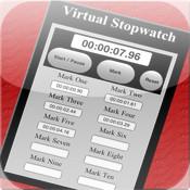 Virtual Stopwatch virtual screen
