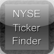 NYSE Ticker Finder scrolling text ticker