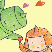 "Picture book ""A Lot Of Hearts"" virginmarysacred heart picture"