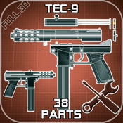 Tec-9 Disassembly 3D