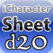 iCharacter Sheet d20 sheet