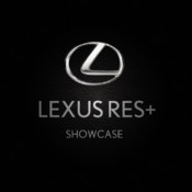 Lexus RES+ Showcase mobile application