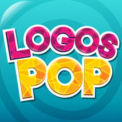 Logos Pop Quiz Game - Guess the puzzle what`s that brand name? Free! (English)