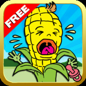 Baby Corn Run Top Free Game - Jump and running over cool man and crows top free