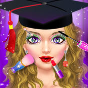 College Girl Makeover - Give This High School Graduate a Beautiful Makeup & Dress-Up
