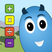 Dragon Egg Elementary Math Free - a Nurturing Pet Game to Practice Basic Math Facts