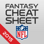 NFL Fantasy Football Cheat Sheet & Draft Kit 2015