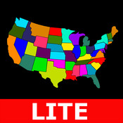 US States Shapes & more lite