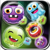Bubble Galaxy BOOM! Tiny Alien Dots Match - Full Version game