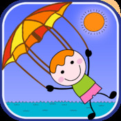 Parachute Adventure Time - Happy Stickman Fall Rescue pro
