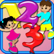 Save The Numbers - Playground Balloons Numbers Game point numbers