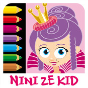 Color Princess - Coloring Exercises for Kids