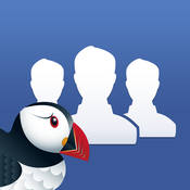 Puffin for Facebook facebook