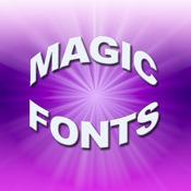 Magic Fonts for iPad