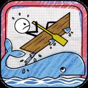 Stickman Stunt Boat