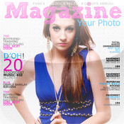 Magazine Your photo ls magazine photo