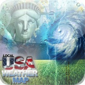 US Local Weather Map
