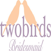 twobirds Bridesmaid vera wang bridesmaid dresses