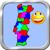 Portugal Puzzle Map