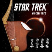 Star Trek™ Vulcan Harp trek into darkness