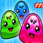 A Jelly Bean Candy Drop