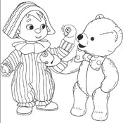 Andy Pandy Coloring Book