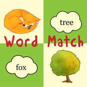 Ferdinand Fox`s Word Match Game for preschool kids & early readers