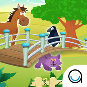 Learn Animal Names & Sounds : Hidden Objects, Hide & Seek Memory Puzzle for 4 year old & 5 year old kids in Preschool, Kindergarten & Montessori FREE