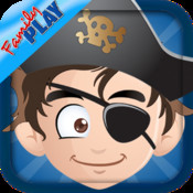 Pirates Adventure All in 1: Learn to Count, Learn the Alphabet, Coloring, Pirate Puzzles and many more pirate games for kids