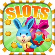 2015 Happy Easter Bunny Slots Machine Game - Free Slots, Vegas Slots
