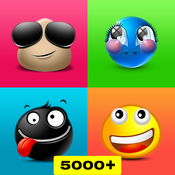 Extra New Emojis - 3D Animated Chat Emoticons & Stickers for Texting