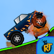 Monster Truck Racing: Up Hill Mountain Climbing - 4x4 Off-Road Driving Riot - Climb and Crush Traffic