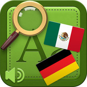 Universal Mexican Spanish - German Audio Dictionary and Phrasebook