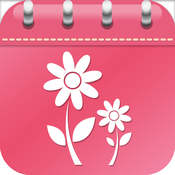 Menstrual Calendar - Fertility, Monthly Cycle Period Tracker & Ovulation Calculator diary menstrual ovulation