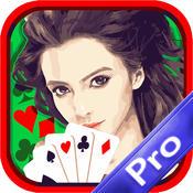 Las Vegas Jackpot Casino Solitaire Mania Journey X Classic Black Cards Pro black