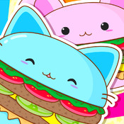 Kawaii Burger Full